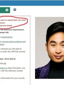 Asian Man Reacts After New Zealand Rejects His Passport Photo
