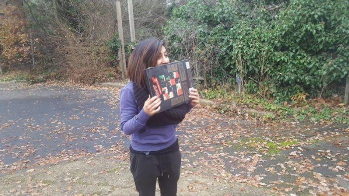 Husband Makes Wife A Giant Advent Calendar For Christmas