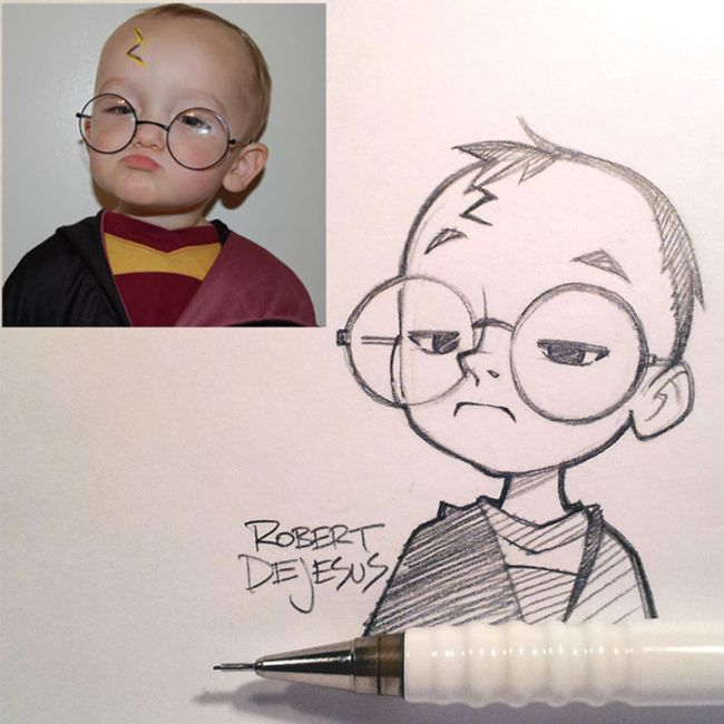 Artist Turns Total Strangers Into Awesome Anime Characters