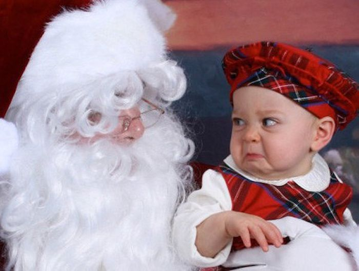 The Horrifying Reality Of Taking Your Kids To See Santa