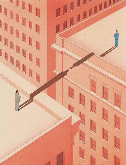 Guy Billout's Surreal Illustrations Will Make You Look Twice