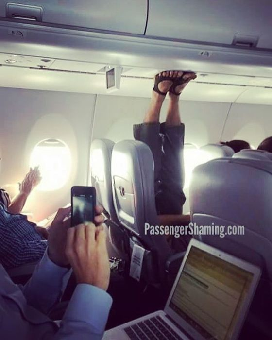 Shameless Passengers Who Made Flights Unbearable For Everyone Else