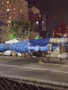 Full Sized Star Wars X-Wing Fighter Hits The Streets Of Los Angeles