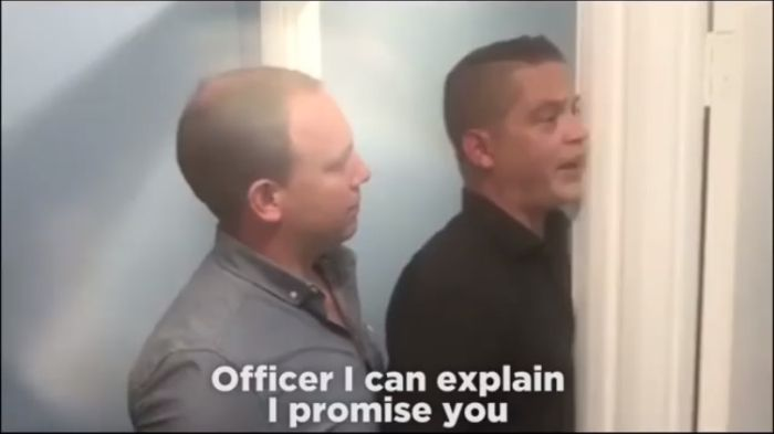 Guy Comes Up With A Foolproof Way To Avoid Getting Arrested
