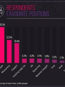 Surveys Reveal Which Sex Positions People Prefer In Europe And The U.S.