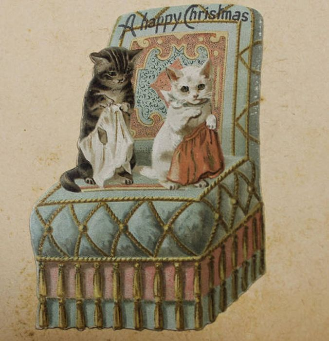 Weird And Creepy Christmas Cards From The Victorian Era