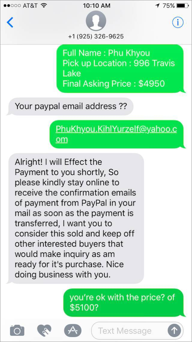 Scammer Gets Scammed While Trying To Purchase A Motorcycle