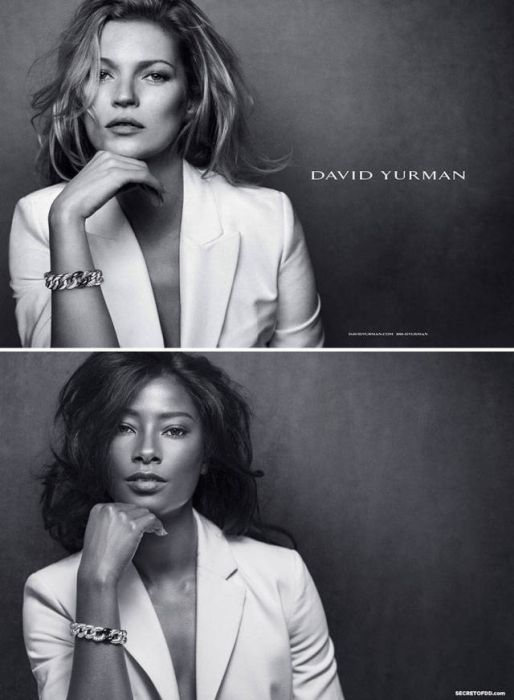 Model Highlights Lack Of Diversity By Recreating Famous Ad Campaigns