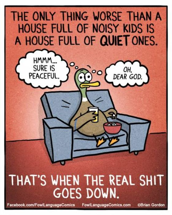 Anyone Who Has Kids Will Be Able To Relate To These Funny Comics