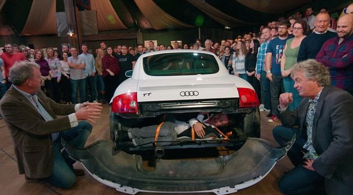 The Grand Tour Teaches Fans How To Smuggle Migrants In A Audi TT