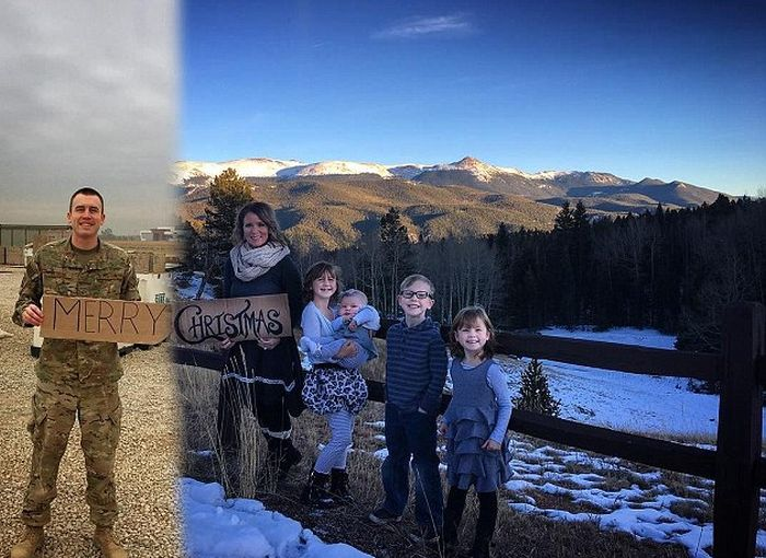This Military Family Christmas Card Will Melt Your Heart