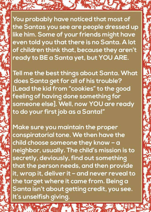 Mom Finds An Awesome Way To Teach Her Kids About Santa
