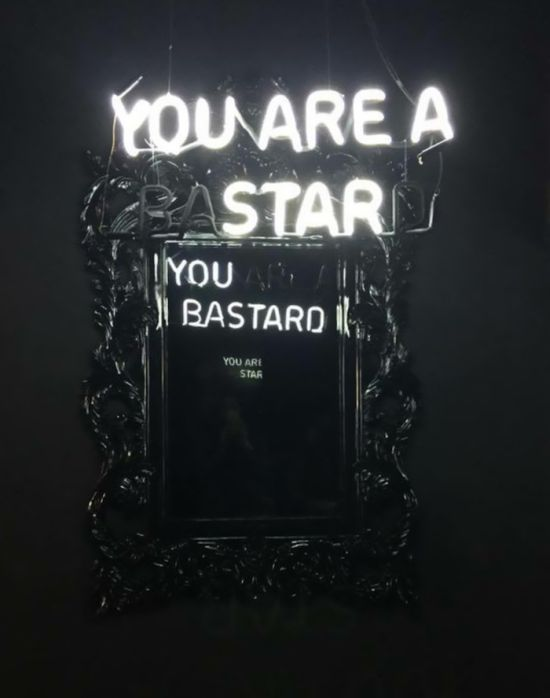 Interesting Mirror Reflections With Dual Messages