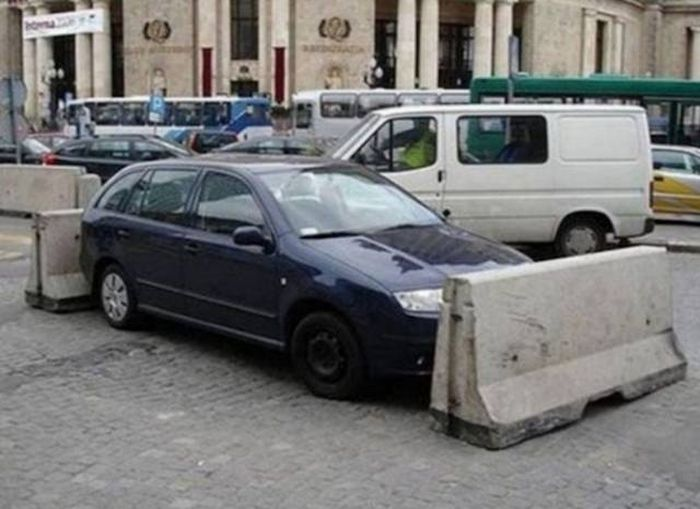 People Who Don't Know How To Park Get A Healthy Dose Of Sweet Revenge