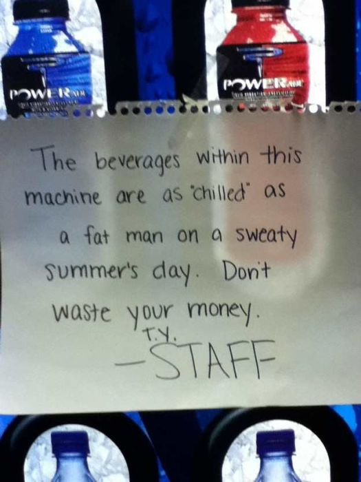 20 Vending Machine Malfunctions That Ruined Someone's Day