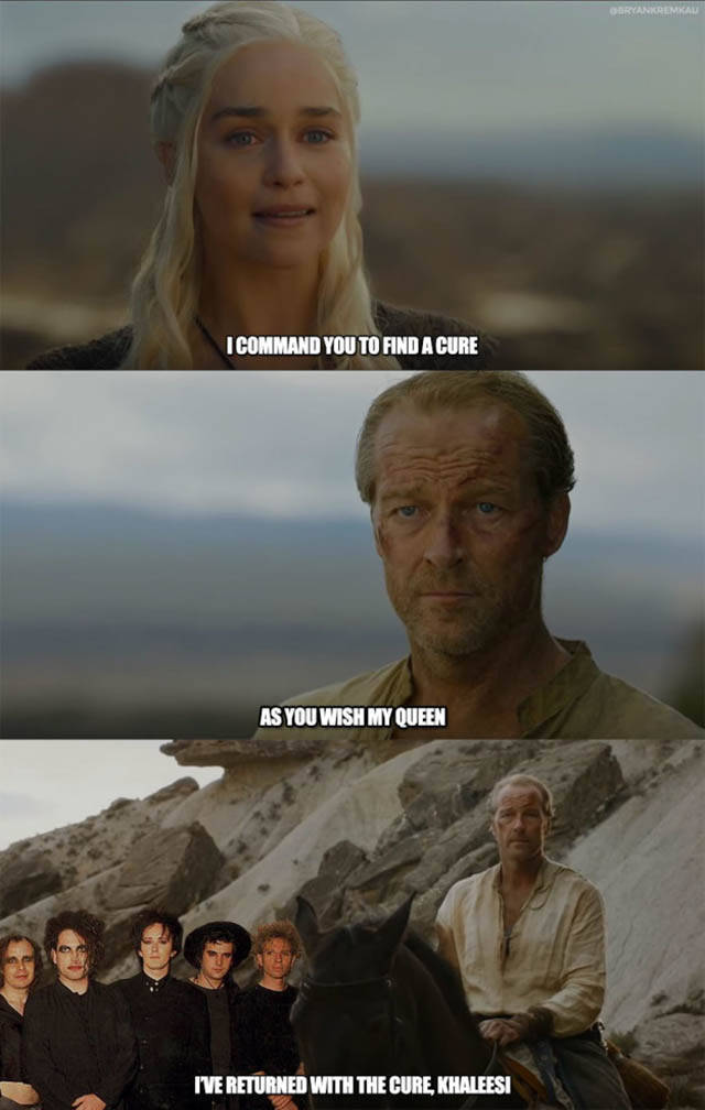 The Most Hilarious Game Of Thrones Jokes From 2016, part 2016