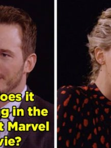Jennifer Lawrence And Chris Pratt Destroy Each Other With Hilarious Insults