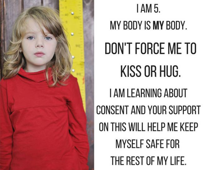 Message About Kids And Consent Sparks A Controversial Conversation