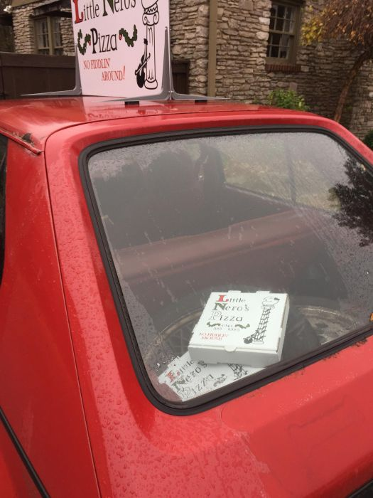 Fans Recreate The Little Nero's Pizza Car From Home Alone