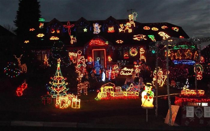 People That Went All Out For Christmas