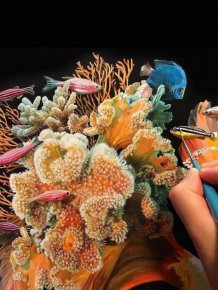 Lisa Ericson Creates Incredible Surreal Fish Paintings