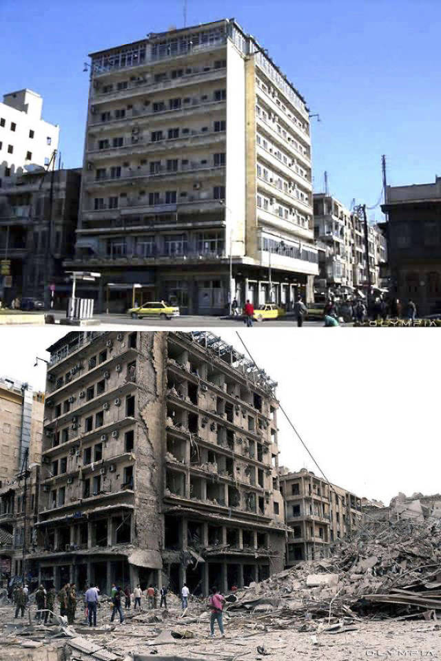 War Has Completely Destroyed The City Of Aleppo