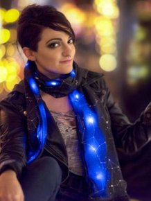 This Amazing Cosmic Scarf Will Make You Will Look Like A Star