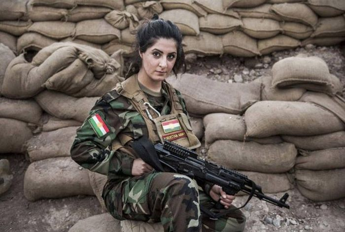 Meet Joanna Palani, A Kurdish Crusader Who Is Committed To Fighting ISIS