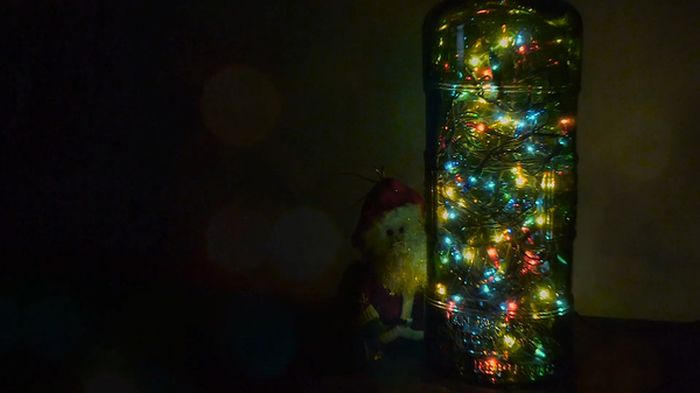 The Perfect DIY Lamp For The Holidays