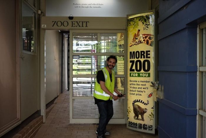 Guy Discovers He Can Go Anywhere While Wearing A Hi-Vis Vest
