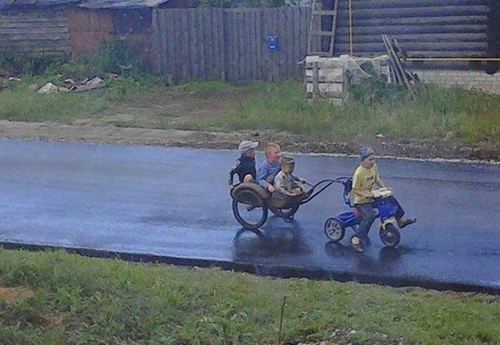 Russians Really Are A Different Breed