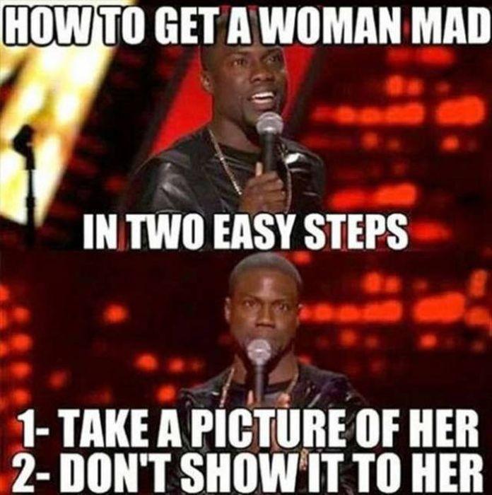 Women's Logic Is An Infinite Subject For Men To Explore