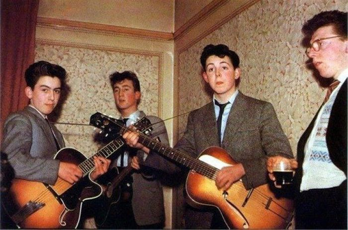 Rare Early Photos Of Some Of The Most Iconic Rock Bands Ever
