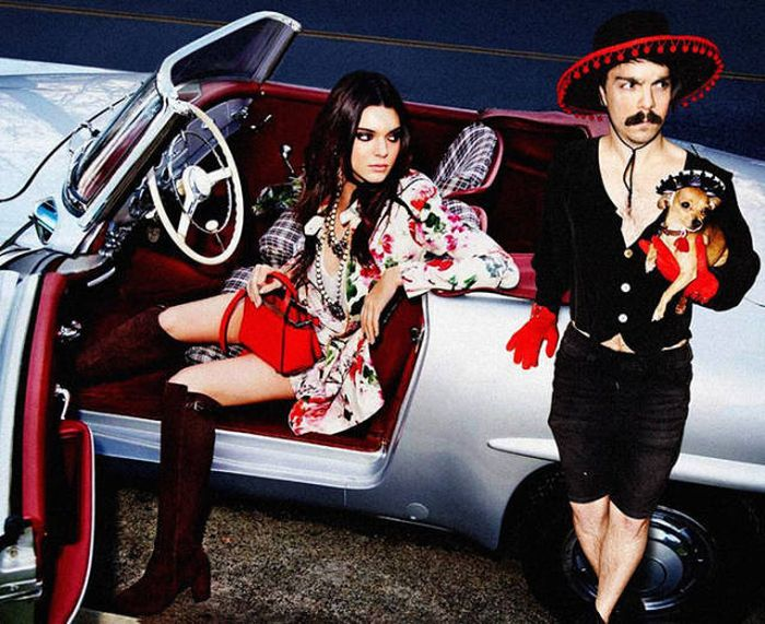 Guy Photoshops Himself Into Hilarious Photos With Kendall Jenner