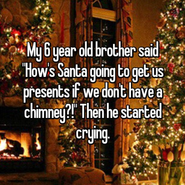 Kids Who Definitely Take Christmas Way Too Seriously