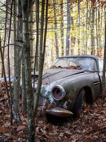 Abandoned Aston Martin Set To Sell For A Small Fortune