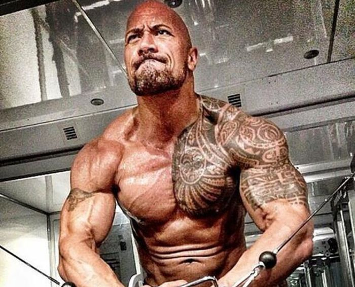 What Happens When You Train Like The Rock For A Month