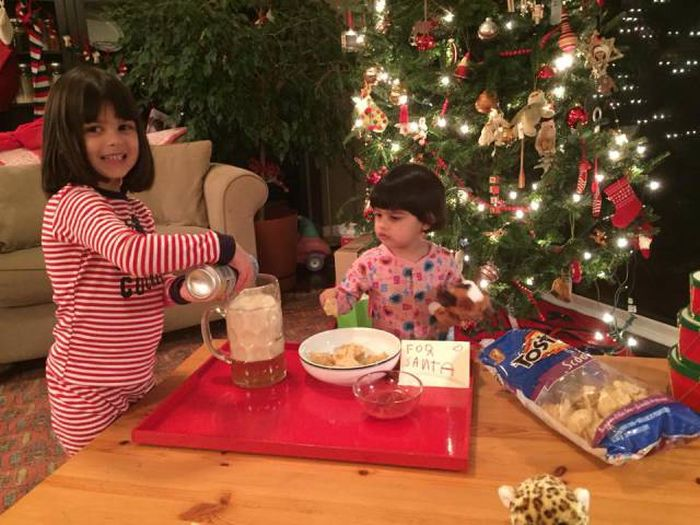 Santa Doesn't Get Milk And Cookies At This House