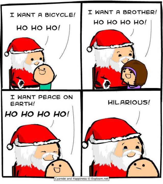 Hilarious And Awkward Cyanide And Happiness Christmas Comics