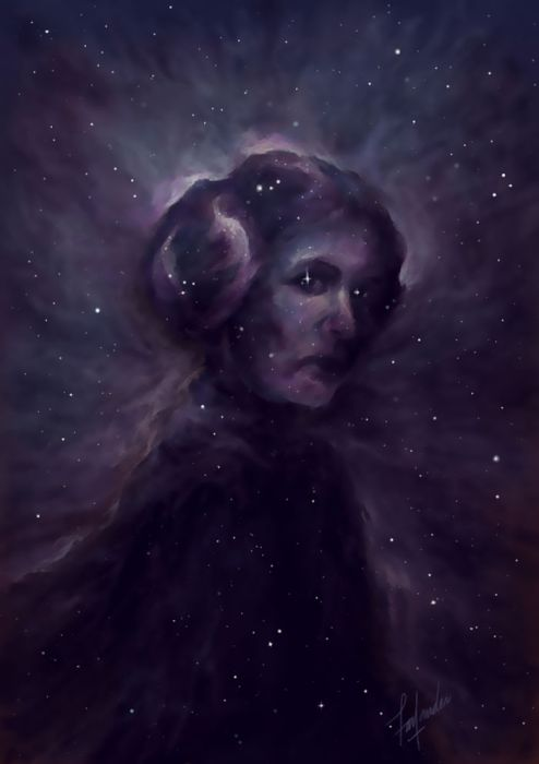 Heartwarming Tributes To The Late Carrie Fisher By Talented Artists