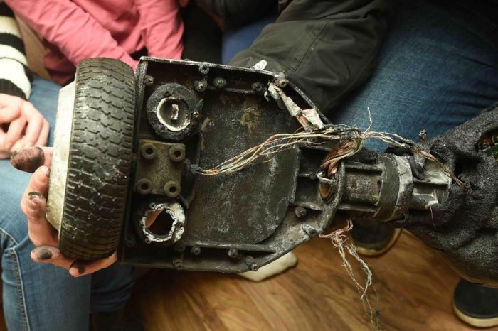 Family Flees Home After A Horrifying Hoverboard Explosion