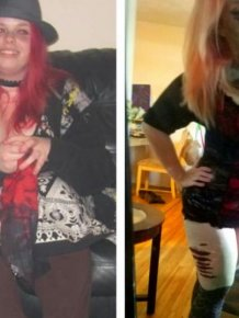 Woman Goes Through Incredible Two Year Weight Loss Transformation