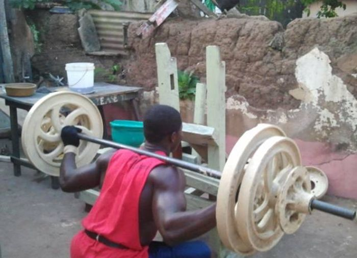 These Guys Prove You Don't Need Fancy Equipment To Train