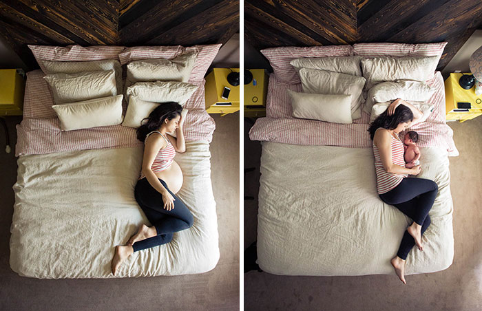Before And After Pregnancy Photos Will Warm Your Heart