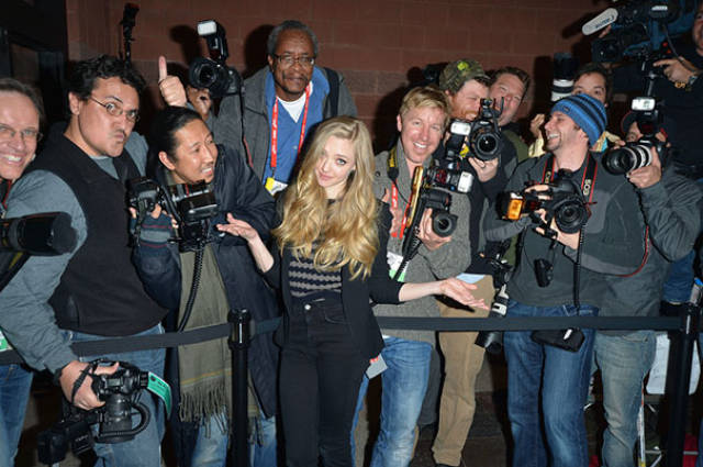 These Celebs Aren't Shy In Front Of The Paparazzi