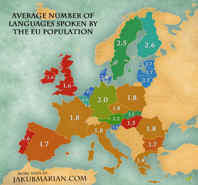 European Country Comparisons That Reveal Interesting Info About Europe