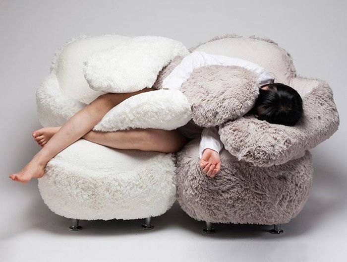 You'll Never Be Alone Again Thanks To This Hugging Sofa