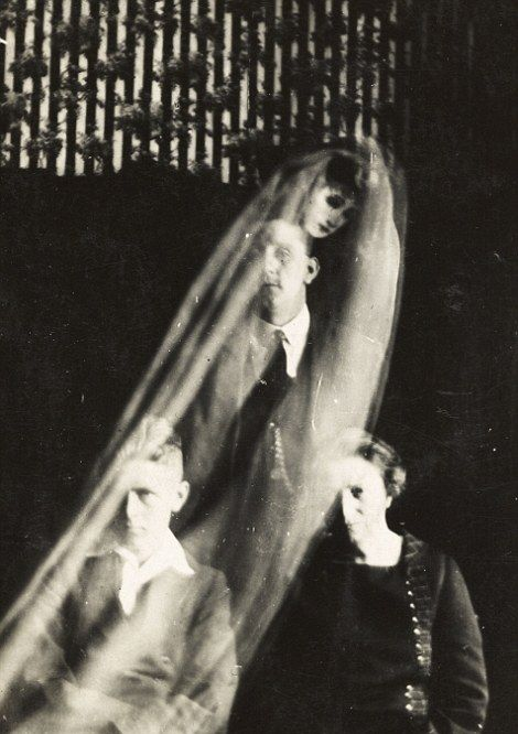 The First Ghosts Ever Caught On Camera