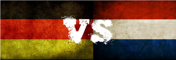 Side By Side Comparisons Of Germany And The Netherlands