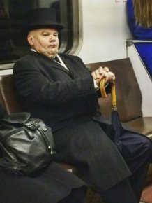 Fashion Choices That Prove The Subway Is A Strange Place
